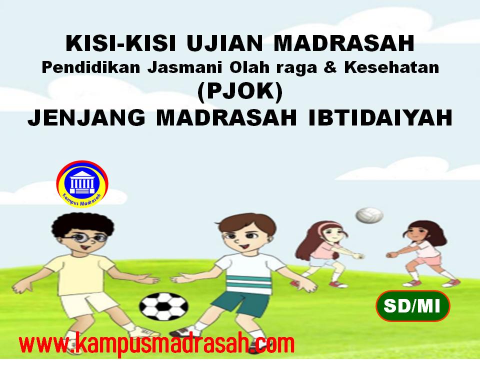 Kisi-kisi Ujian Madrasah Mapel PJOK