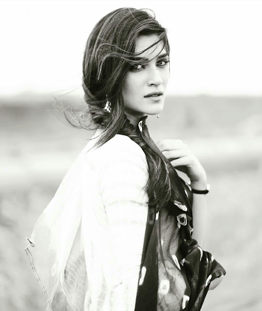 Kriti Sanon Black and White Photoshoot 2020