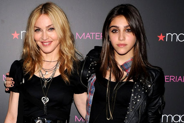 Madonna and Lourdes Maria Ciccone Leon