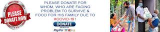 PLEASE DONATE FOR SUFFERING CORONA VIRUS (COVID-19)