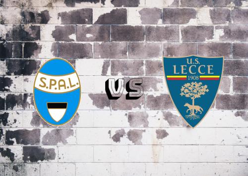 SPAL vs Lecce  Resumen