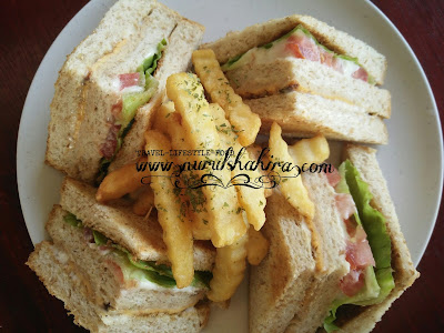 Western Breakfast Paling Best di 101Breakfast Tawau, Sarapan menarik di Tawau, Sarapan best Tawau