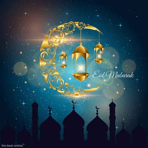 eid wishes cards images