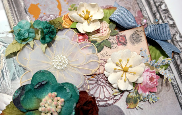 Flower Cluster Detail 1 by Dana Tatar for Scraps of Darkness Kit Club - May 2017