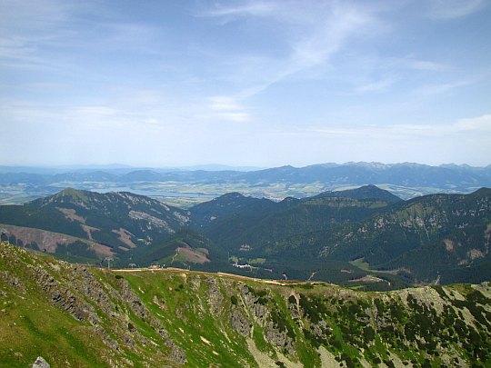 Narciarska trasa zjazdowa Jasná-Chopok północ (Chopok sever).
