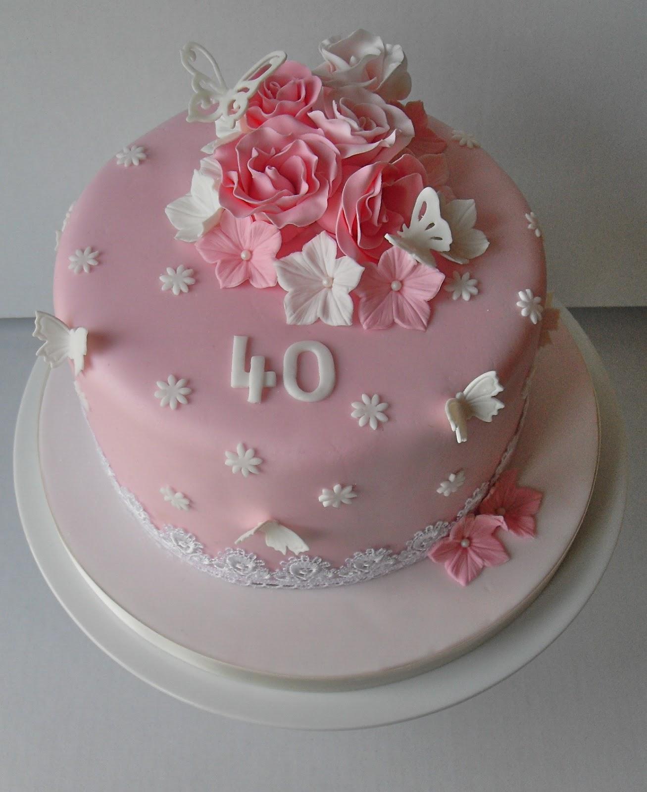 40th Birthday Cake Cake Pops