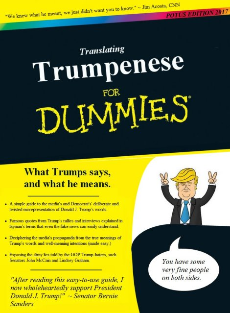 Trumpenese for Dummies