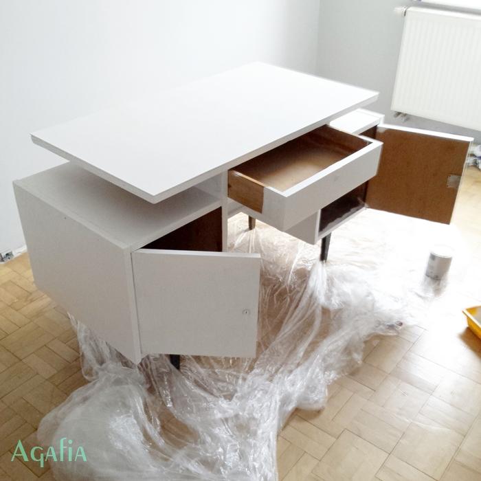 jak pomalować biurko
