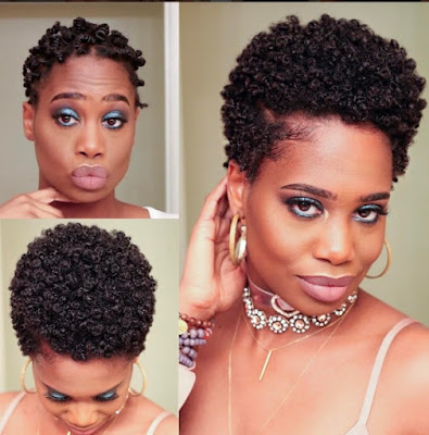 Short Hair Transitioning Natural Hairstyles For Fall