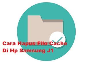 Hapus file cache aplikasi
