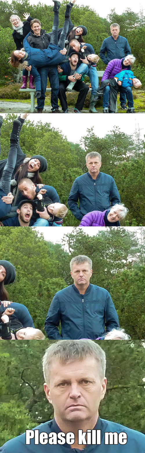 Family Photos fail