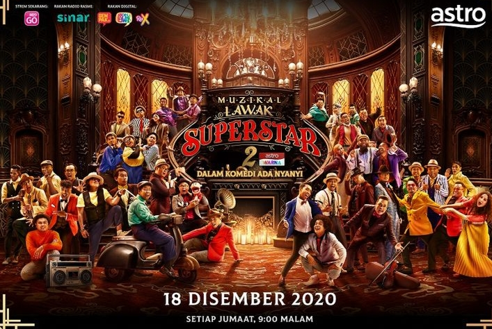 Live Streaming Muzikal Lawak Superstar 2020 Online