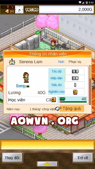 game cafe nippon android viet hoa aowvn%2B%25281%2529 - [ HOT ] Game Cafeteria Nipponica Việt Hoá | Android - Quản Lý Quán Ăn