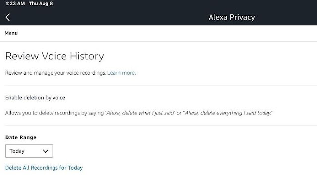pengeras suara berbasis Alexa Amazon
