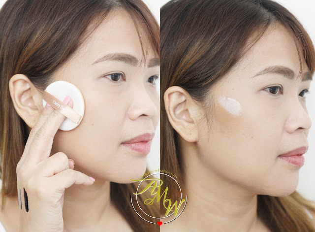 a photo of Cathy Doll Sculpting: Highlight & Shading Cushion Review Fair skin and Honey Skin.
