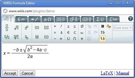 Plugin untuk menambahkan persamaan matematikan di wordpress