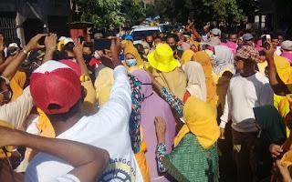 Hadir di Langgudu, Tampaknya Dukungan untuk IDP-Dahlan Makin Tak Terbendung