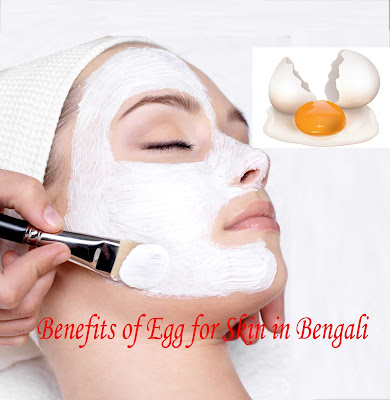 Benefits of Egg for Skin in Bengali