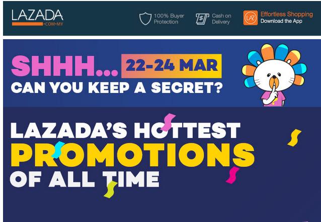 Lazada 5th Anniversary Sales