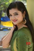 Akshitha cute beauty in Green Salwar at Satya Gang Movie Audio Success meet ~  Exclusive Galleries 023.jpg