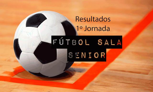 FÚTBOL SALA SENIOR: Disponible resultados de la 1º Jornada de la Temporada 201-20