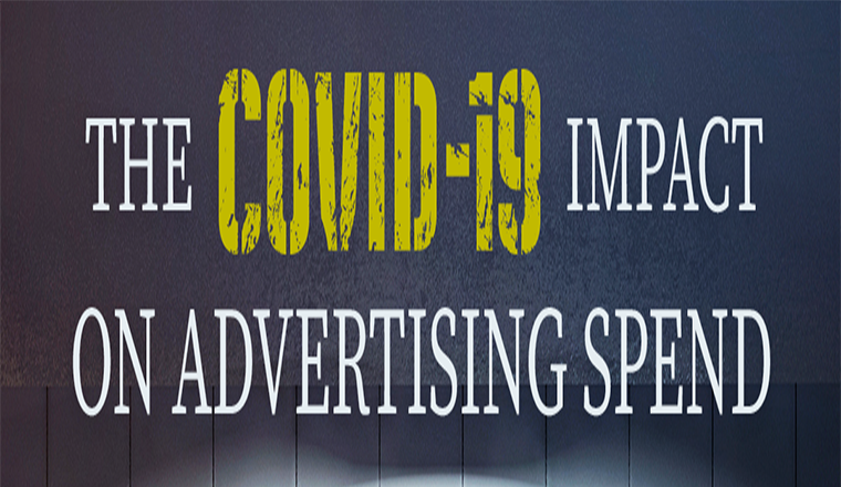 The COVID-19 Impact on Advertising Spend #infographic