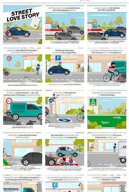 neue Verkehrsregeln ....