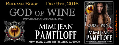 Release Blast & Giveaway: God of Wine by Mimi Jean Pamfiloff
