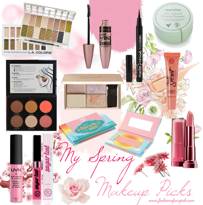 My Spring Makeup Picks