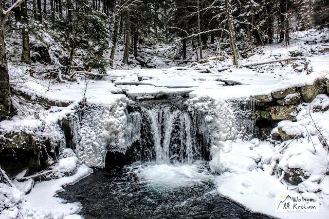 Czeskie góry zimą