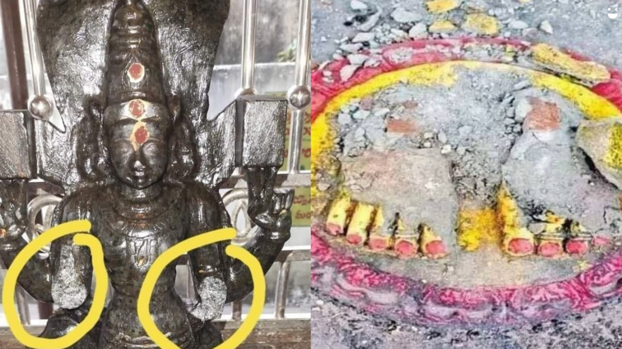 ఆంధ్రలో మరో రెండు చోట్ల విగ్రహాల ధ్వంసం - Destruction of idols at two other places in Andhra