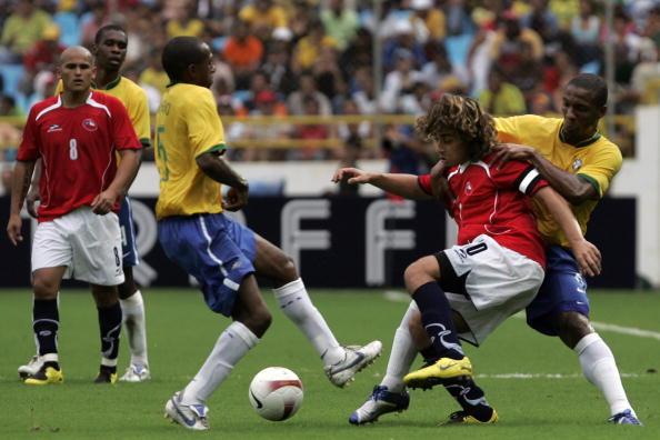 Brasil y Chile en Copa América 2007, 1 de julio