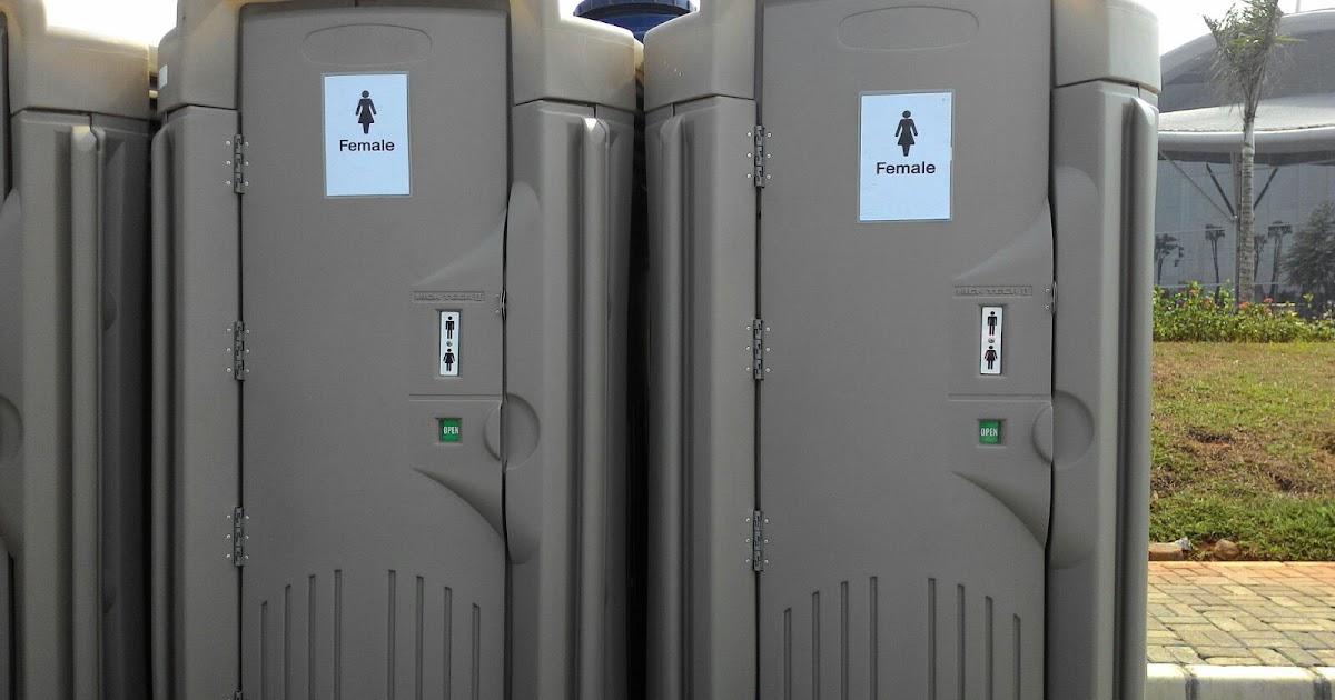 Portable Toilet Exhibition : Toilet umum portable jendela lia membuka dunia baru