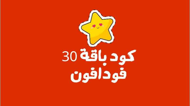 تفاصيل الاشتراك في باقة فودافون 30 مصر 2021
