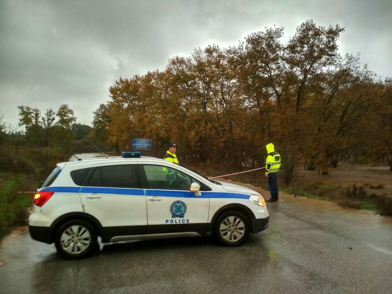 Ανακοίνωση της ΕΛ.ΑΣ για την κατάσταση των δρόμων στη Χαλκιδική