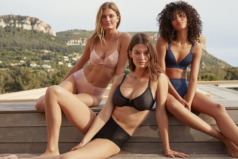 Etam Fall/Winter 2019 Lingerie Campaign