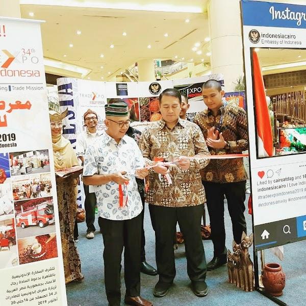 Pameran Produk Indonesia: Jalin Keromantisan Indonesia-Mesir di Sektor Ekonomi dan Perdagangan