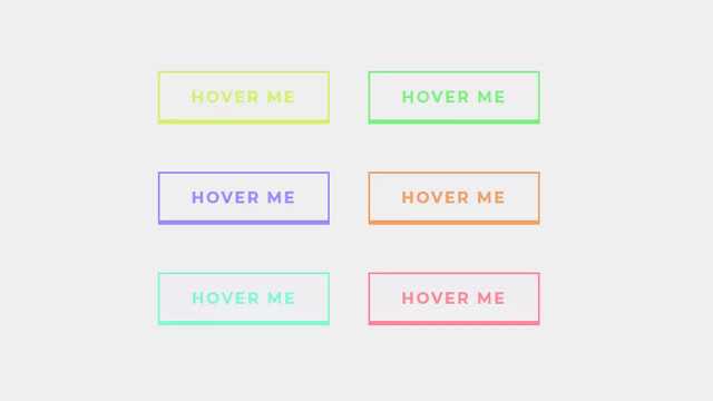 CSS Buttons with Trippy Background Animation