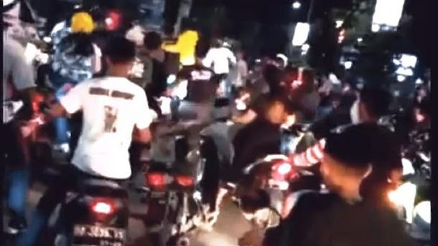 Viral 'Senggol Bacok' Pengantar Jenazah vs Pengendara di Makassar