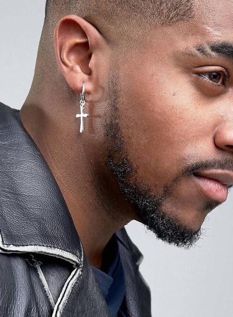 Men S Fashion Cross Earrings