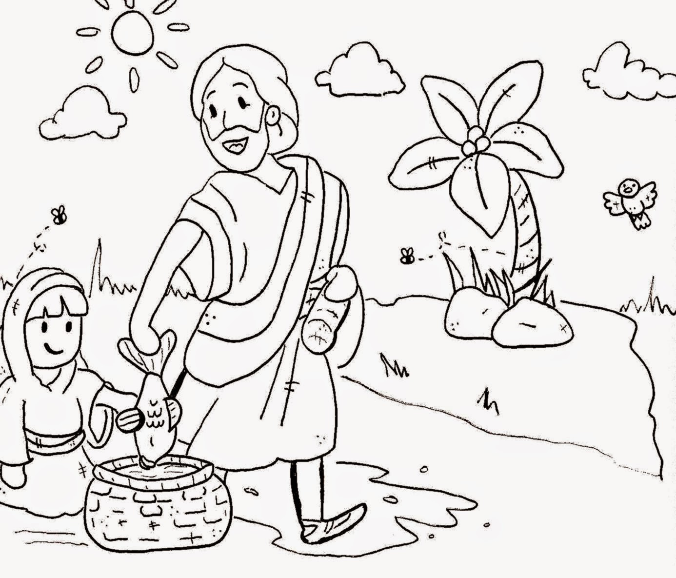 - Free Coloring Pictures: Sunday School Coloring Pages