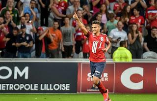 Sofiane Boufal vient d'être élu meilleur joueur de Ligue 1 du mois d'avril.