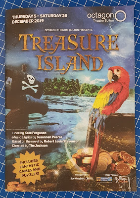 Treasure Island Review - Octagon Theatre, Bolton Programme
