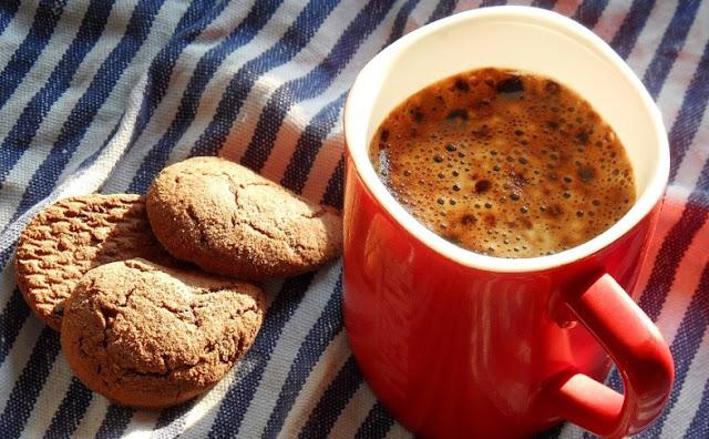 Cinnamon Coffee Cookies