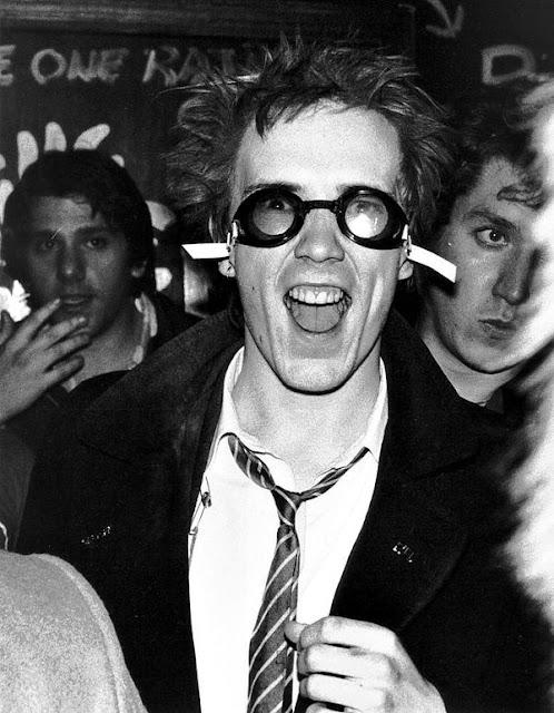 Johnny Rotten, Atlanta, 1978 - Rock Stars by Bob Gruen
