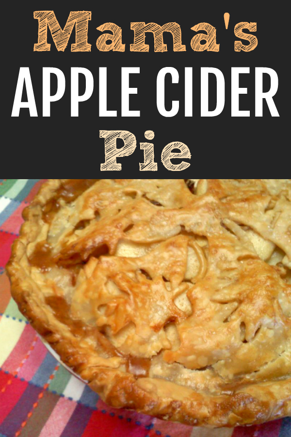 A knock-your-socks-off homemade apple pie recipe with a rich filling made with tart apples and sweet apple cider that's perfect every time.