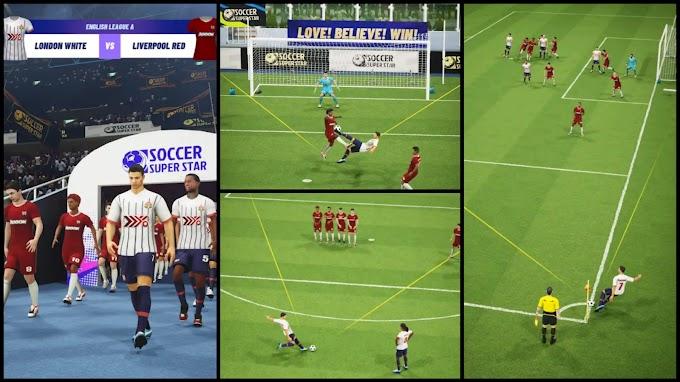 لعبة كرة القدم الجديدة للأندرويد Soccer Super Star