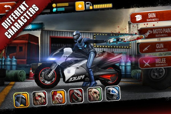 Download Game Death Moto 3 Apk v1.2.17 Mod (Unlimited Money + Gems) New
