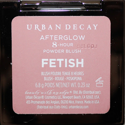 Urban Decay Afterglow 8-Hour Powder Blush in Fetish