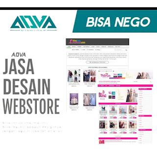 DESAIN WEBSTORE